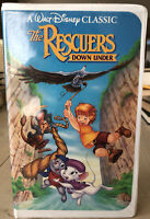 Disney's The Rescuers Down Under Black Diamond VHS Tape