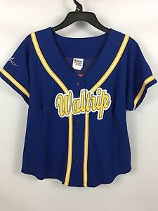 Women's NASCAR Chase Authentics MICHAEL WALTRIP #15 Stitched Jersey - Large NWT