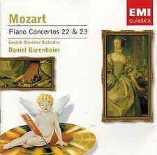 Mozart - Piano Concertos 22 & 23 - Daniel Barenboim (CD)