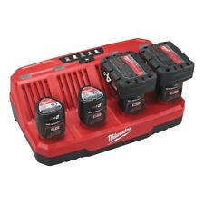 Milwaukee Charger M12 C4 for up to 4 Li-Ion 12V Batteries 4932430554