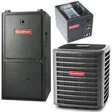 2 Ton AC 40K 80% Goodman HORIZONTAL Gas Furnace GSX140241 GMH80403AN CHPF3636B6