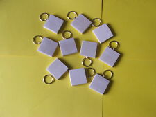 KEYRING BLANKS-SYCAMORE-NEW SIZE-pyrography,painting-engraving-10 in pack £6.50