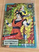Carte Dragon Ball Z DBZ Super Battle Part 15 #639 Double Prisme MADE IN JAPAN