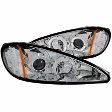 Headlight Set-Projector w/Halo ANZO 121356