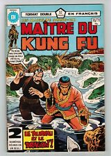 FRENCH COMIC FRANÇAIS EDITION HERITAGE CANADA  MASTER MAITRE KUNG FU  # 70 / 71