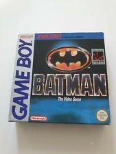 Nintendo Gameboy Batman The Video Game CIB Super Zustand Game Boy NES SNES