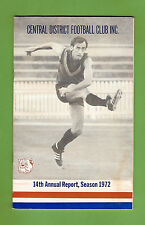 #D173. 1972 CENTRAL DISTRICT FOOTBALL CLUB, ADELAIDE, ANNUAL REPORT