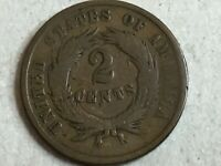 1864 two cent piece Very Fine Condition-060520-0012
