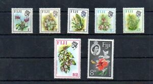 Stamps of  FIJI Flowers collection 7 piece MNH