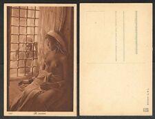Old Risque Nude Arab Postcard - Curiosity
