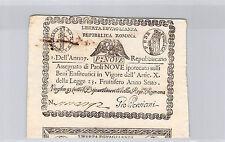 ITALIE 9 PAOLI AN 7 (1798) PICK S 539