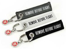 REMOVE BEFORE FLIGHT -beidseitig- MINI 3er Set schwarz weiß grau