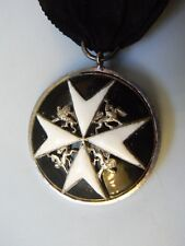 ENGLAND BRITISH EMPIRE ORDER OF ST JOHN KNIGHTS OF MALTA, SISTERS MEDAL, rare