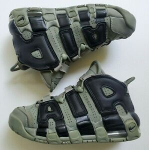 Nike Air More Uptempo GS 'Dark Stucco' Boy's Athletic Shoes 415082 007 Size 4.5Y