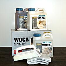 WOCA Pflegebox weiß, Pflege Box für geölte Holzböden (Maintenance box white)