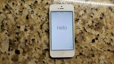 Apple Iphone 5   32gb White  (Unlocked) A1428 (GSM) (CA)-  SCREEN NOT RESPONSIVE