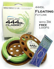 Cortland 444 Classic 444sl Coldwater Freshwater Fly Fishing Line 425071 Wf7f