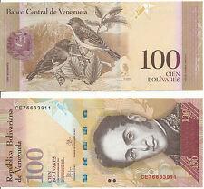 - Venezuela 100 Bolivares 5. 11. 2015 UNC Pick New
