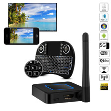 AV HDMI WiFi iOS Android TV Box Airplay Miracast DLNA Wireless Display +Keyboard