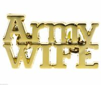 Army Wife USA Hat or Lapel Pin H14611D5
