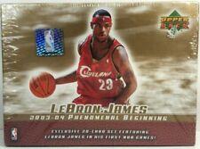 Lebron James 2003 - 04 Phenomenal Beginning Card Set of 13 Cards Upper Deck