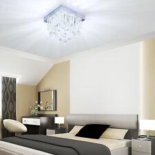 HOMCOM Modern Crystal Pendant Lamp Ceiling Light Fixture Chandelier w/ 5- Lights
