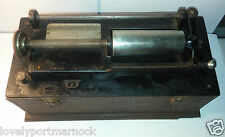 "Rare antique Thomas Edison Home Phonograph gramophone model ""A"" ""Suitcase"" parts"