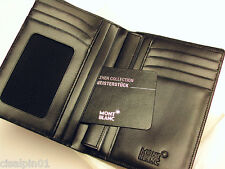 MONTBLANC Meisterstuck Wallet 7cc with ID Card Holder - calf leather