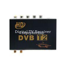 DVB T2 Digital TV Receiver Tuner HD Mobile Car TV Box USB HDMI Dual Antenna