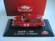 SAAB 95 - RALLYE MONTE CARLO - 1/43 - ATLAS - MINT/BOXED - 1961 - SAAB 95 RALLY