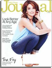 Ladies' Home Journal - 2013, April - Tina Fey, Look Better At Any Age      A