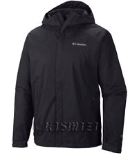 "New Mens Columbia ""Watertight II"" Omni-Tech Packable Rain Wind Jacket"