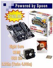 AMD FX-8320E Eight-Core   Gigabyte MB 78LMT-USB3 CPU Combo NEW