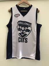 AFL Geelong Football Training Singlet Size L Chest Size 52Cm