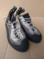 Quechua Climbing Shoes UK 7 Grey Black