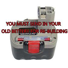 Re-build service for Bosch BAT140 14.4-Volt 3.0 AH Ni-MH Battery