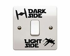 4 x Star Wars - Light Side/Dark Side Light Switch Vinyl Decal Sticker (Style 2)