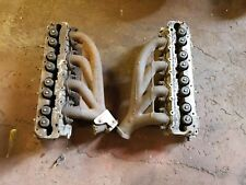 porsche 928 cylinder heads 928.104.348.3R and exhaust manifolds