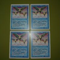 Phantasmal Forces x4 Revised 4x Playset Magic the Gathering MTG