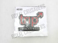 NEW ROYAL ENFIELD STICKER TRIP EMBOSSED #RE32 (CODE 1693)