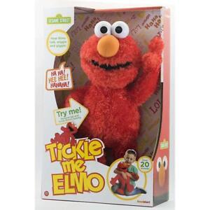 Sesame Street Tickle Me Elmo Talking Plush Soft Toy 2020 New Version