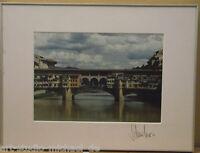 "Klaus Schreiber:""Ponte Vecchio"" Fotografie"