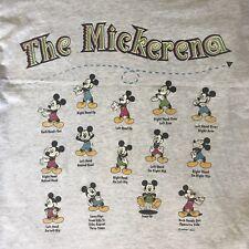 "Vintage Mickey Mouse ""Mickarena"" T Shirt Size XL"
