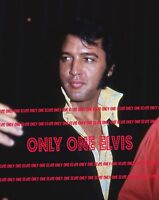 1970 ELVIS PRESLEY 8x10 Photo Caesar's Palace -Las Vegas Nevada CANDID #4