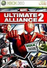 Marvel: Ultimate Alliance 2 Best Buy Exc. (Microsoft Xbox 360, 2009) GREAT SHAPE