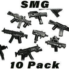 LEGO Guns SMG Sub-machine Gun Lot Randomized Custom Weapon Military Army Bulk