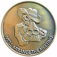 Gods Bounty Hunter Heads Tails Challenge Coin Gift Man US SELLER FAST SHIPPING