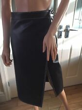 balenciaga Leather Skirt ,size UK 6 FR 34 US 2