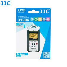 JJC 2PCS LCD Guard Film Screen Display for Zoom H4n Pro Handy Recorder