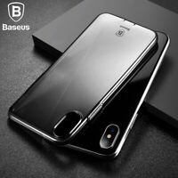 Baseus Slim Silicone Crystal Clear Bumper Case Cover For iPhone 11 PRO XS MAX XR